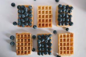 Waffles: an alternative to wedding cake