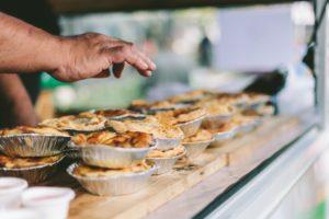 Pie an alternative to wedding cake