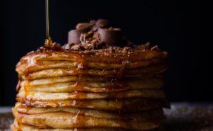 Pancakes an alternative to wedding cake