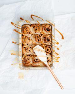 Cinnamon Rolls: an alternative to wedding cake
