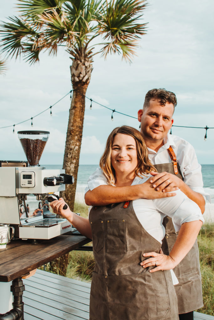 The Owners of your 30A Wedding Coffee Bar