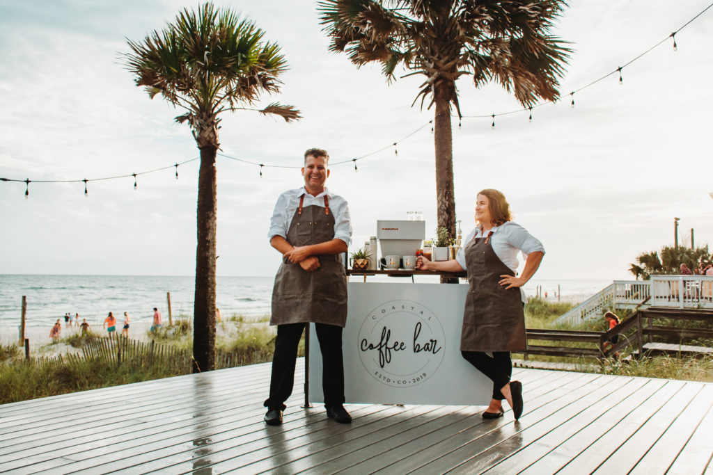 Coastal Coffee Bar Ready for the Fun!