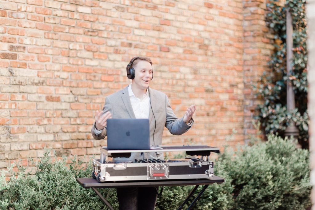 It's just me: Your 30A Wedding DJ/MC