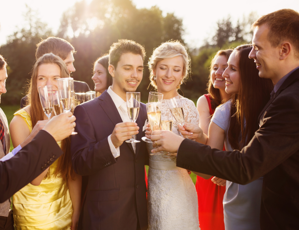 Wedding Toast to the Bride and Groom!