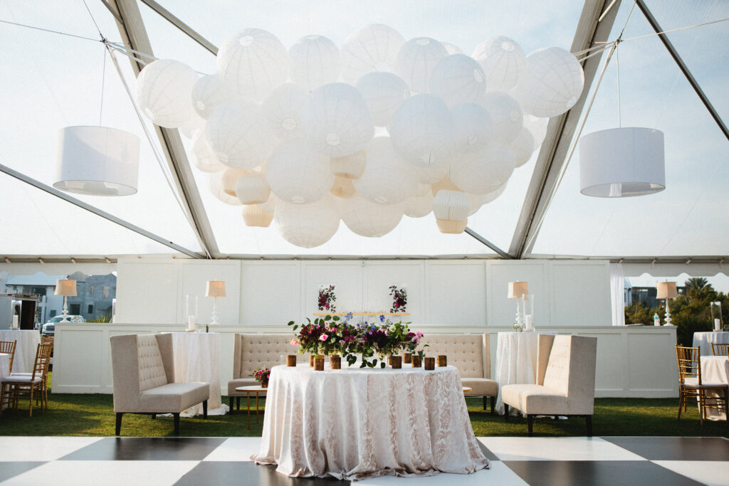 30A Destination Wedding Decor